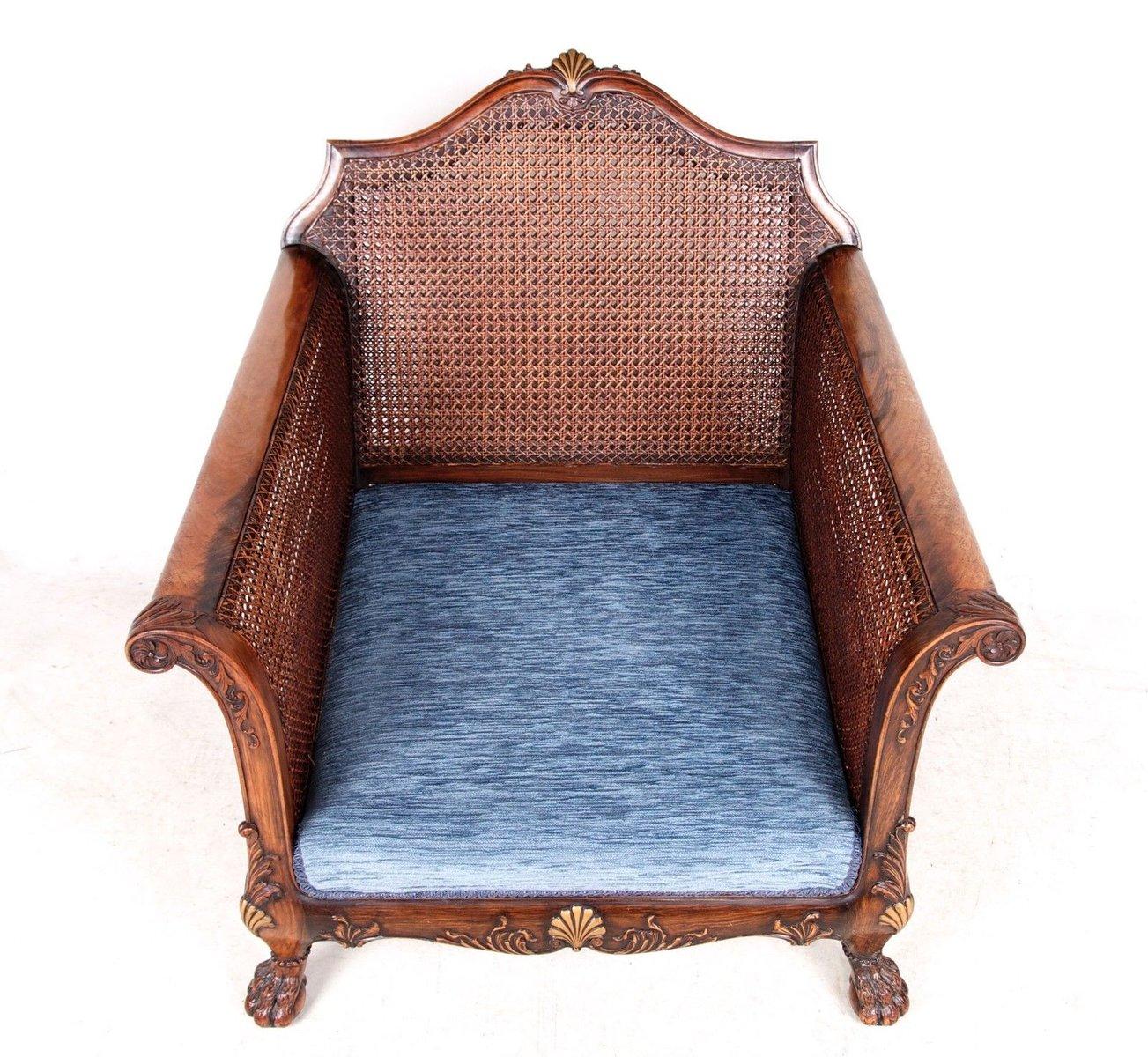 Antique velvet chair - Antique Velvet Chair 52