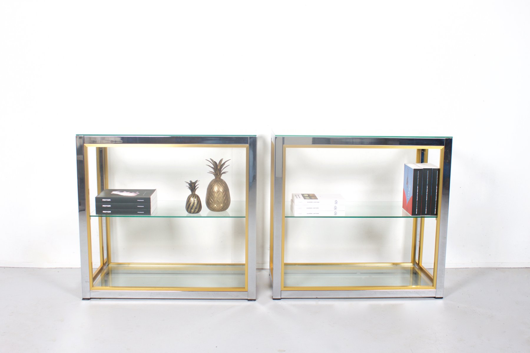 vintage brass and chrome tag re by renato zevi for sale. Black Bedroom Furniture Sets. Home Design Ideas