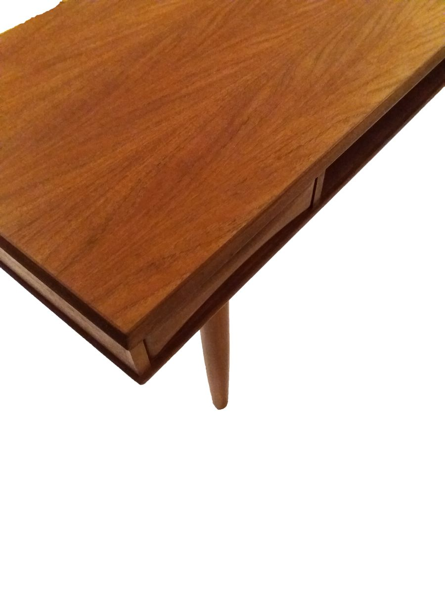 Danish teak coffee table with shelf 1960s for sale at pamono Coffee table with shelf