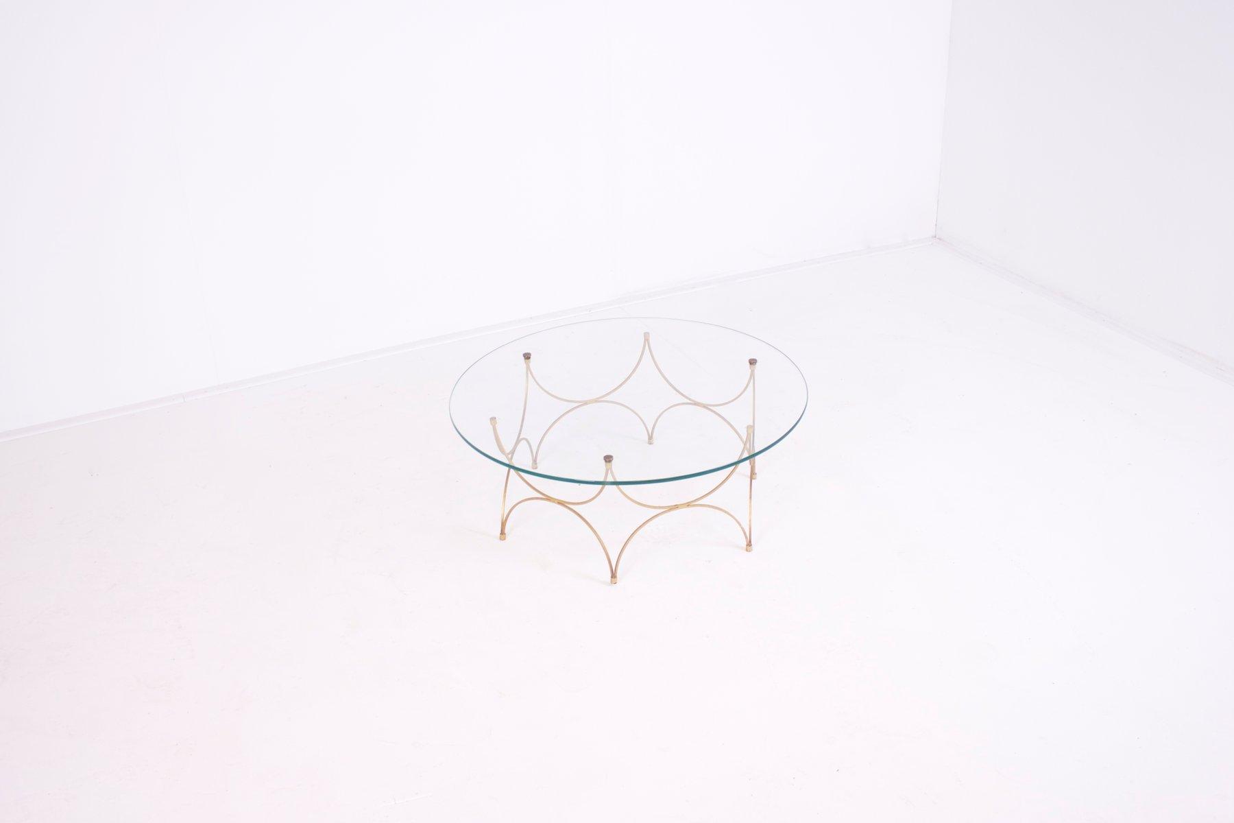 kleiner franz sischer glas couchtisch 1960er bei pamono kaufen. Black Bedroom Furniture Sets. Home Design Ideas