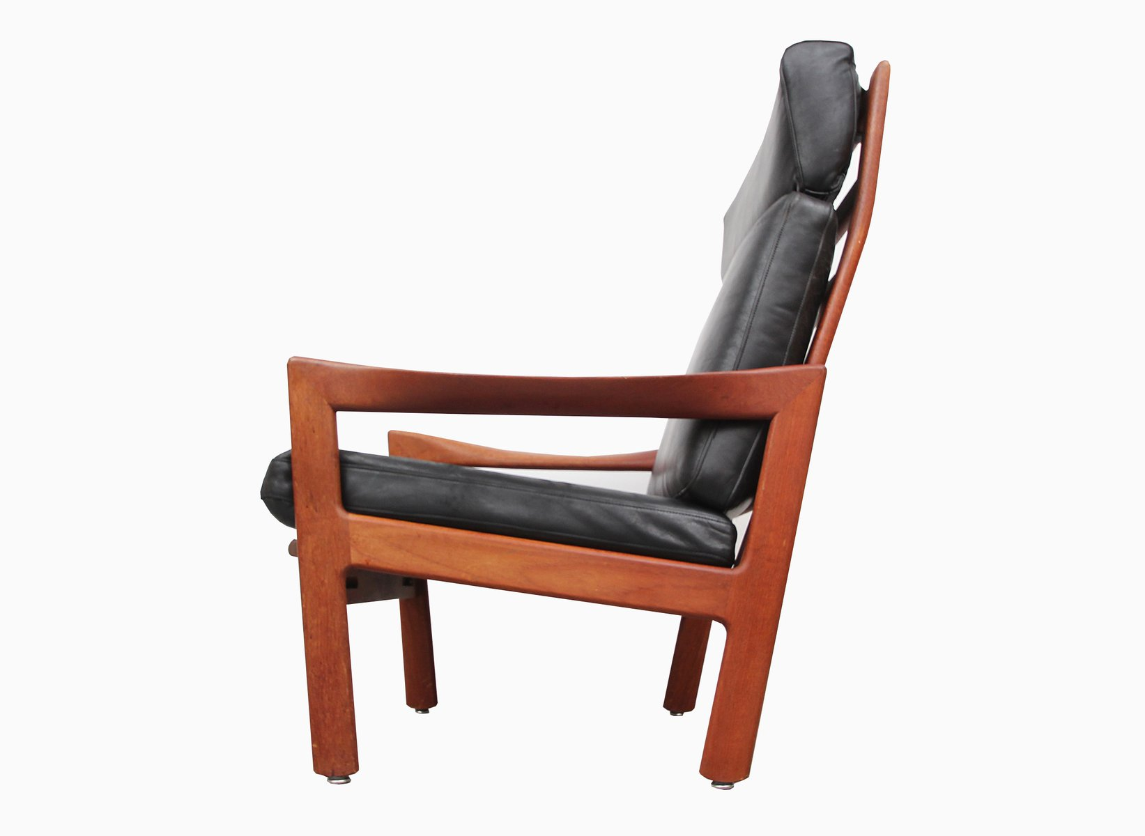 Teak Highback Armchair by Illum Wikkelso for Niels Eilersen 1960s