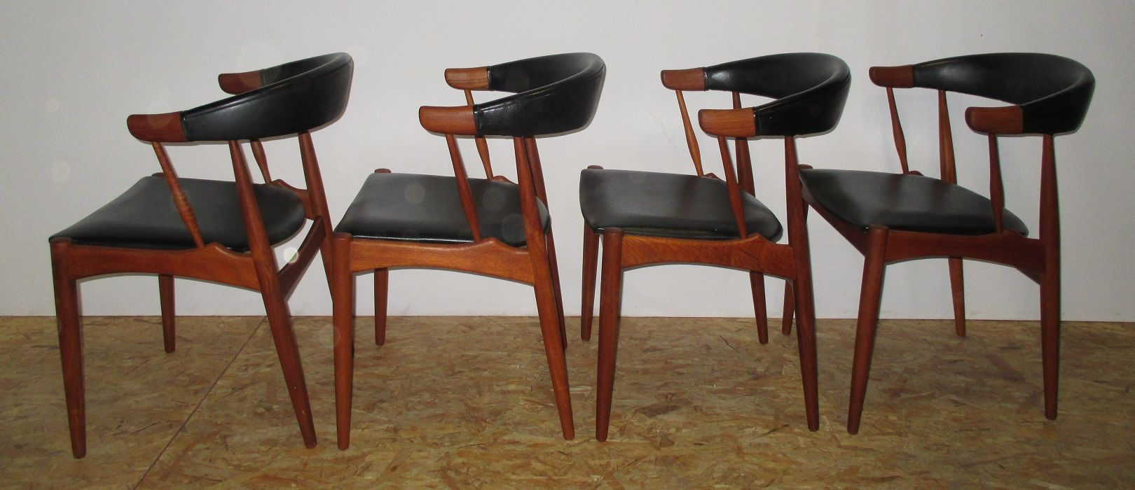 Danish Dining Chairs By Johannes Andersen For BRDR, 1964, Set Of 4