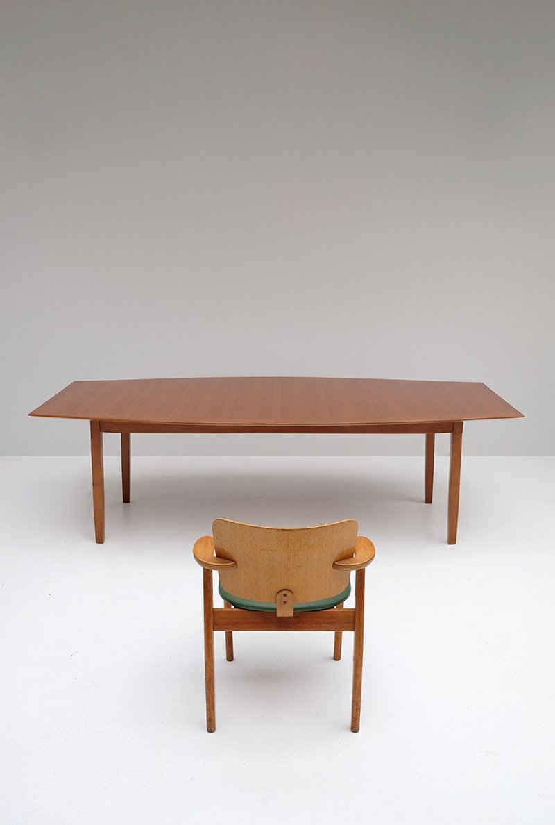 walnut dining table by florence knoll for knoll for sale at pamono