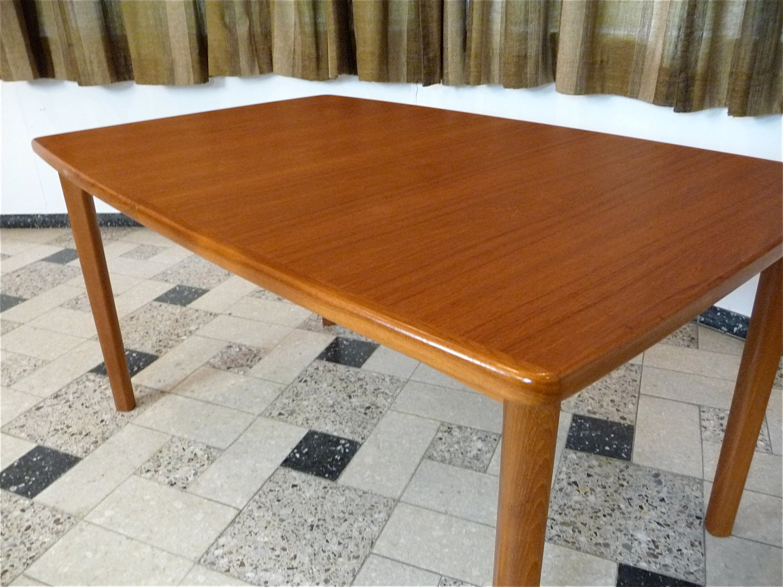 Danish Extending Teak Dining Table 1970s for sale at Pamono