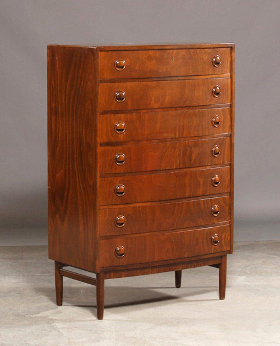 Six Drawer Chest ~ Mid century six drawer dresser by kai kristiansen s