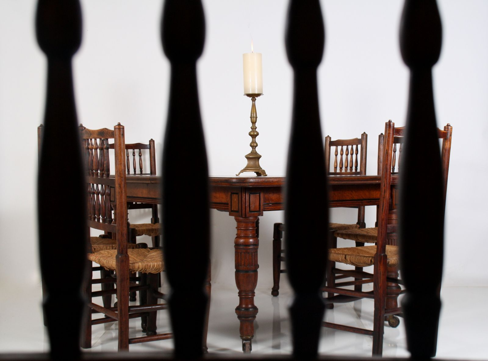 victorian oak dining table for sale gallery