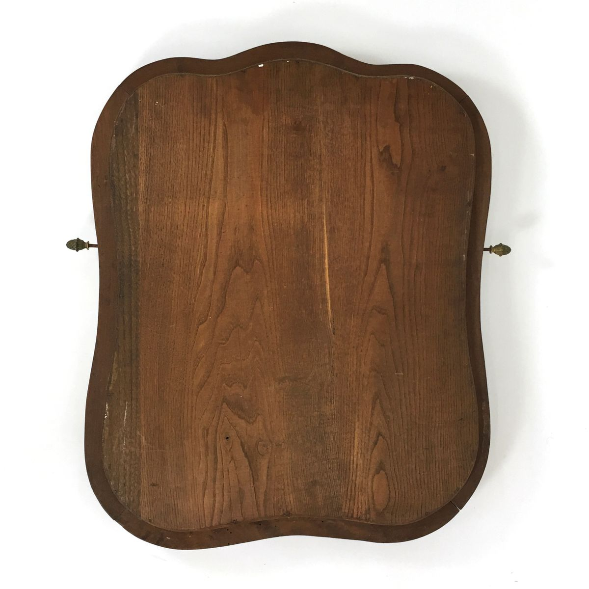 antiker gro er franz sischer spiegel mit holzrahmen bei pamono kaufen. Black Bedroom Furniture Sets. Home Design Ideas