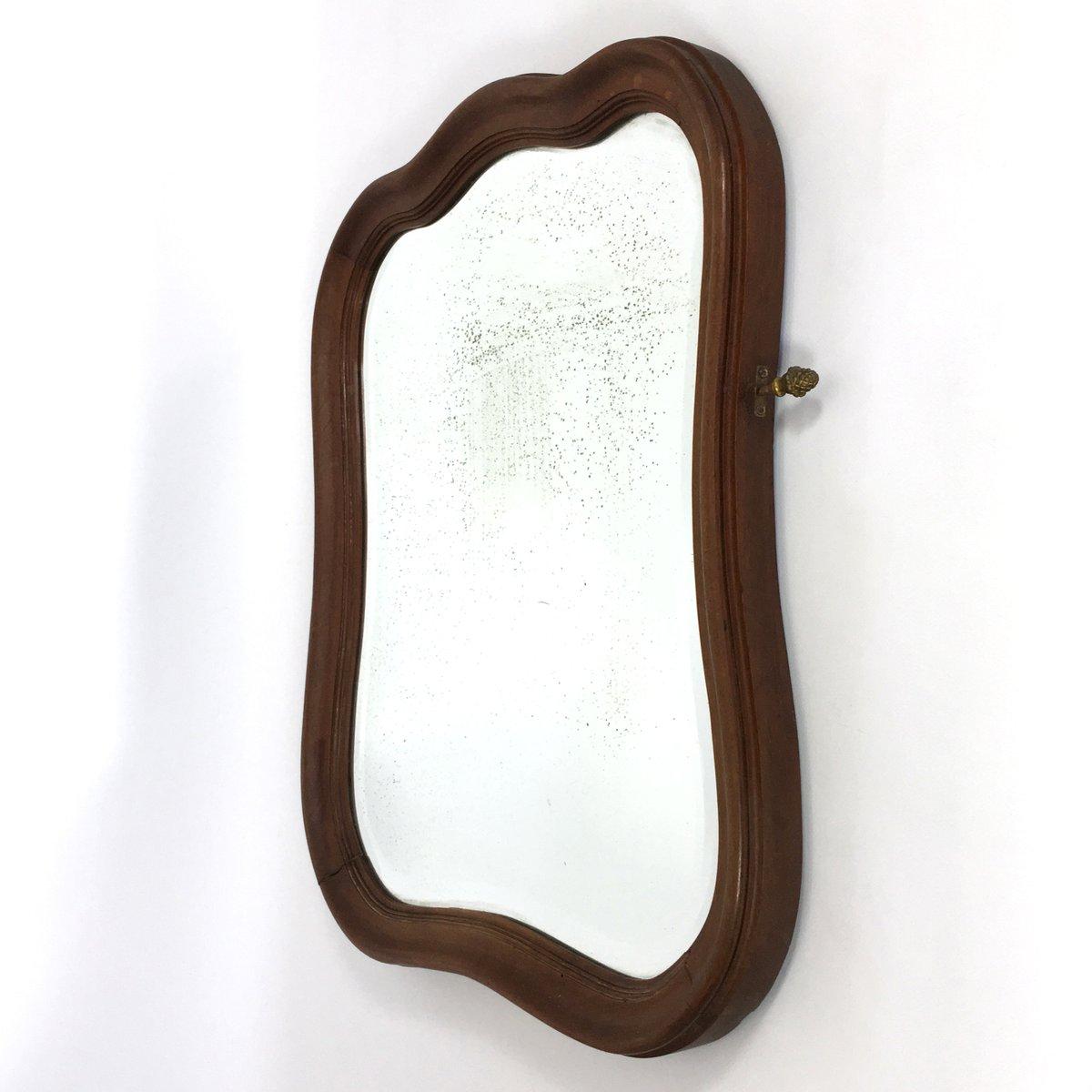 Gro Er Runder Spiegel spiegel mit holzrahmen massivholz dielenspiegel mit rahmen kernbuche wildeiche massivholz