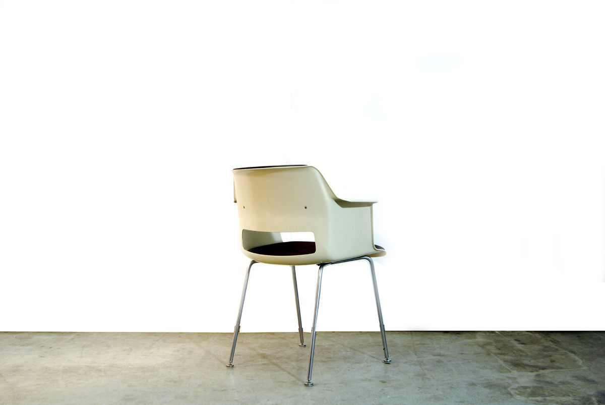 Contemporary dining chairs with arms - Dutch Modern Dining Chairs By A R Cordemeijer For Gispen 1960s Set Of 4
