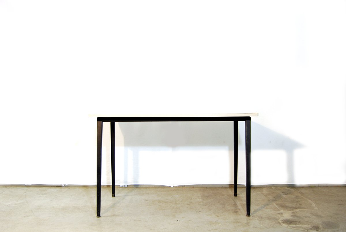 Industrial dutch reform dining table by friso kramer for ahrend de cirkel 1964 for sale at pamono - Kamer dining ...