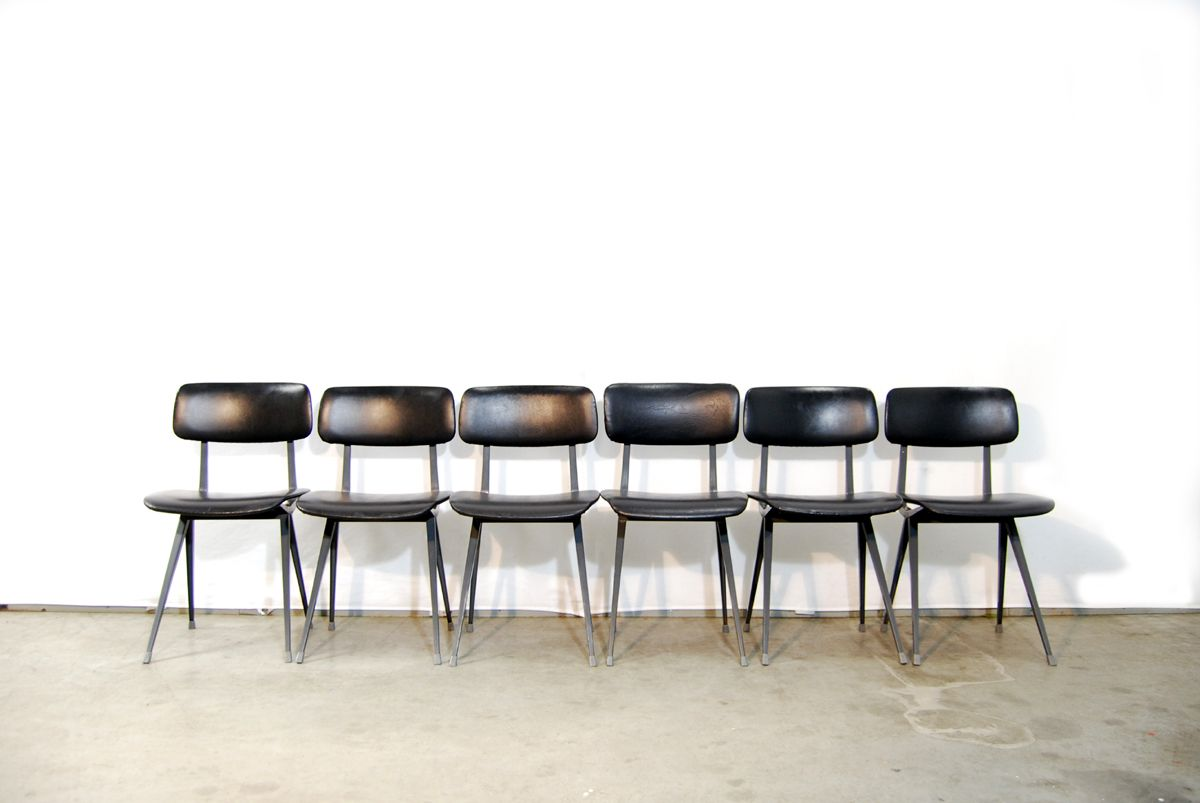 Industrial Result Dining Chairs By Friso Kramer For Ahrend