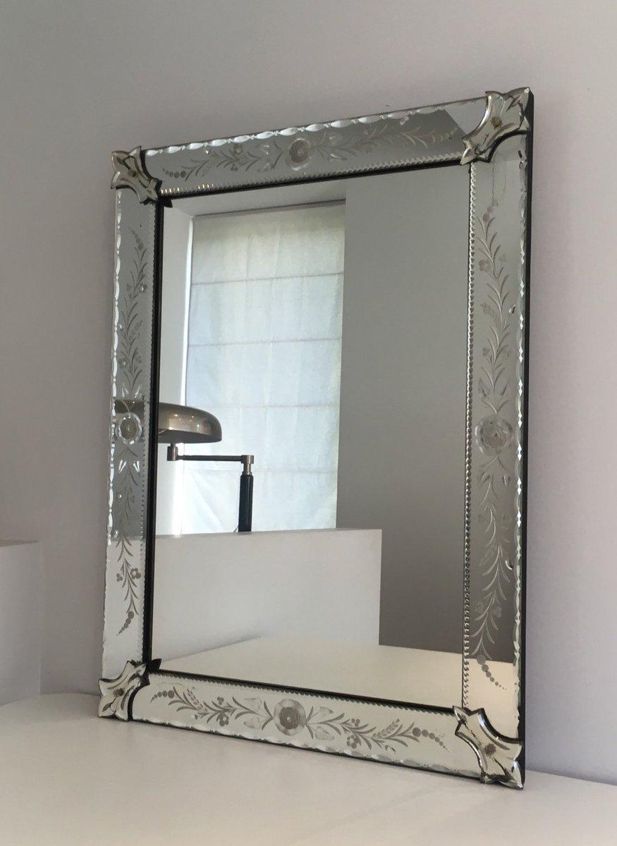 venezianischer vintage spiegel 1970er bei pamono kaufen. Black Bedroom Furniture Sets. Home Design Ideas