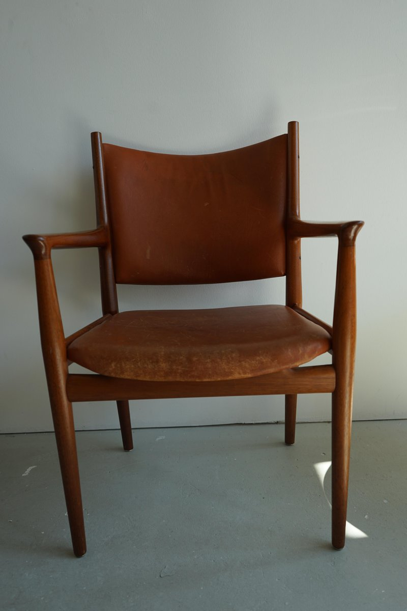 midcentury jh713 chair by hans wegner for johannes hansen
