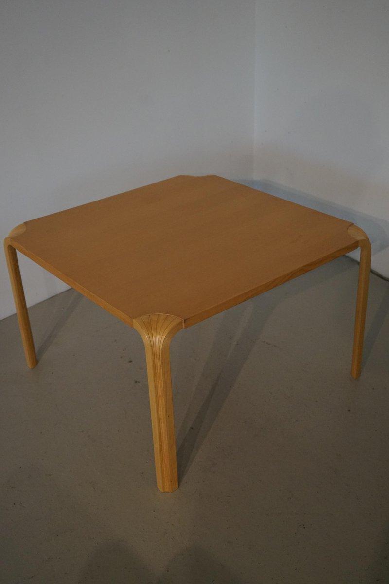 Vintage Fan Leg Coffee Table By Alvar Aalto For Artek