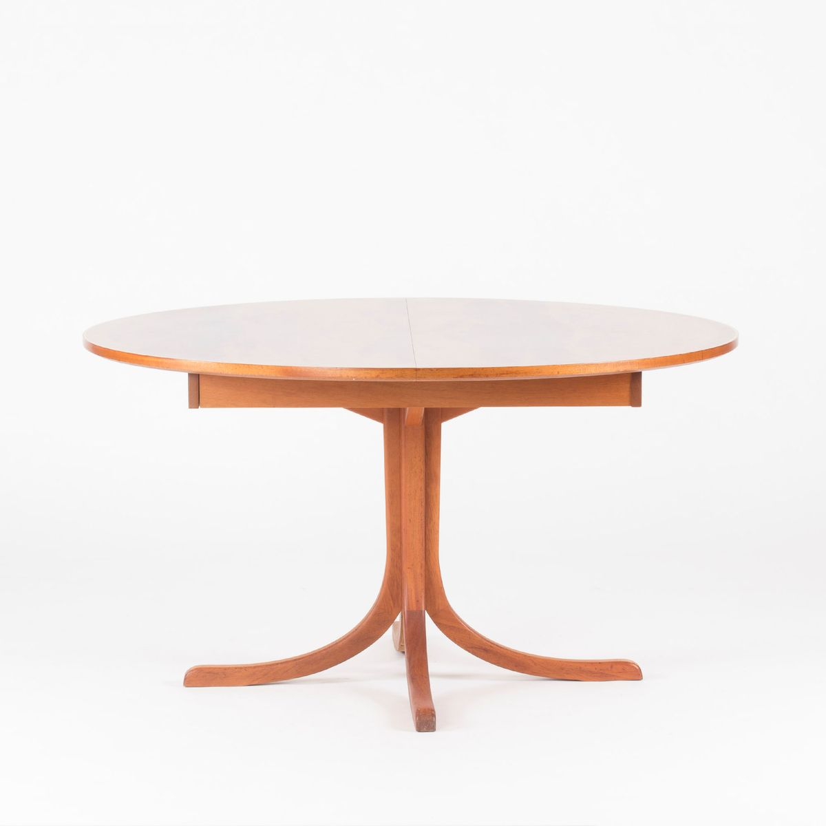Extendable mahogany dining table by josef frank for for Mahogany dining table
