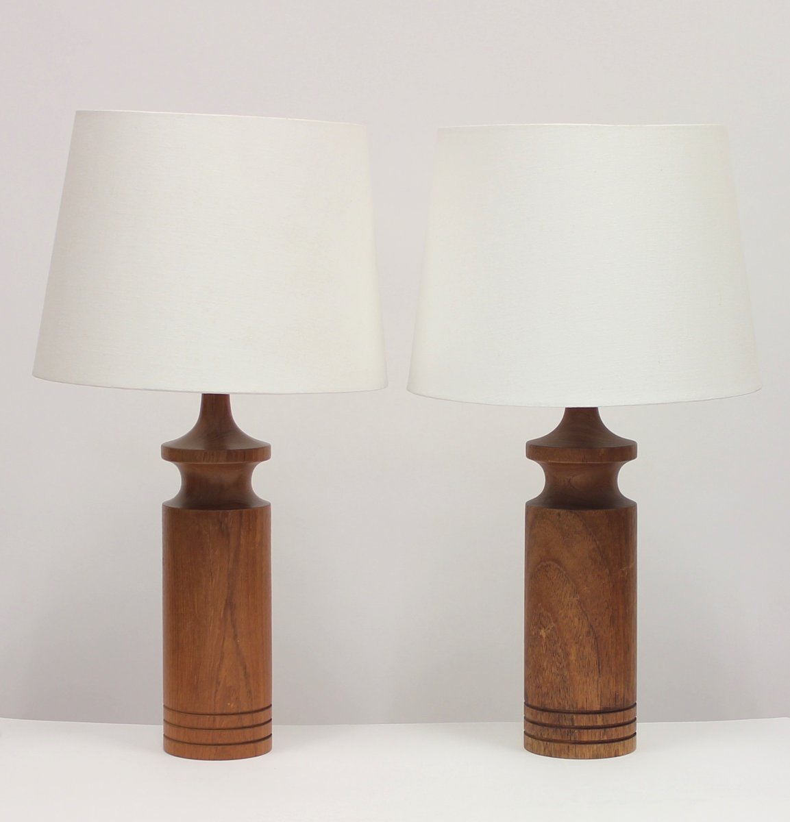 Swedish teak table lamps 1960s set of 2 for sale at pamono swedish teak table lamps 1960s set of 2 audiocablefo light catalogue
