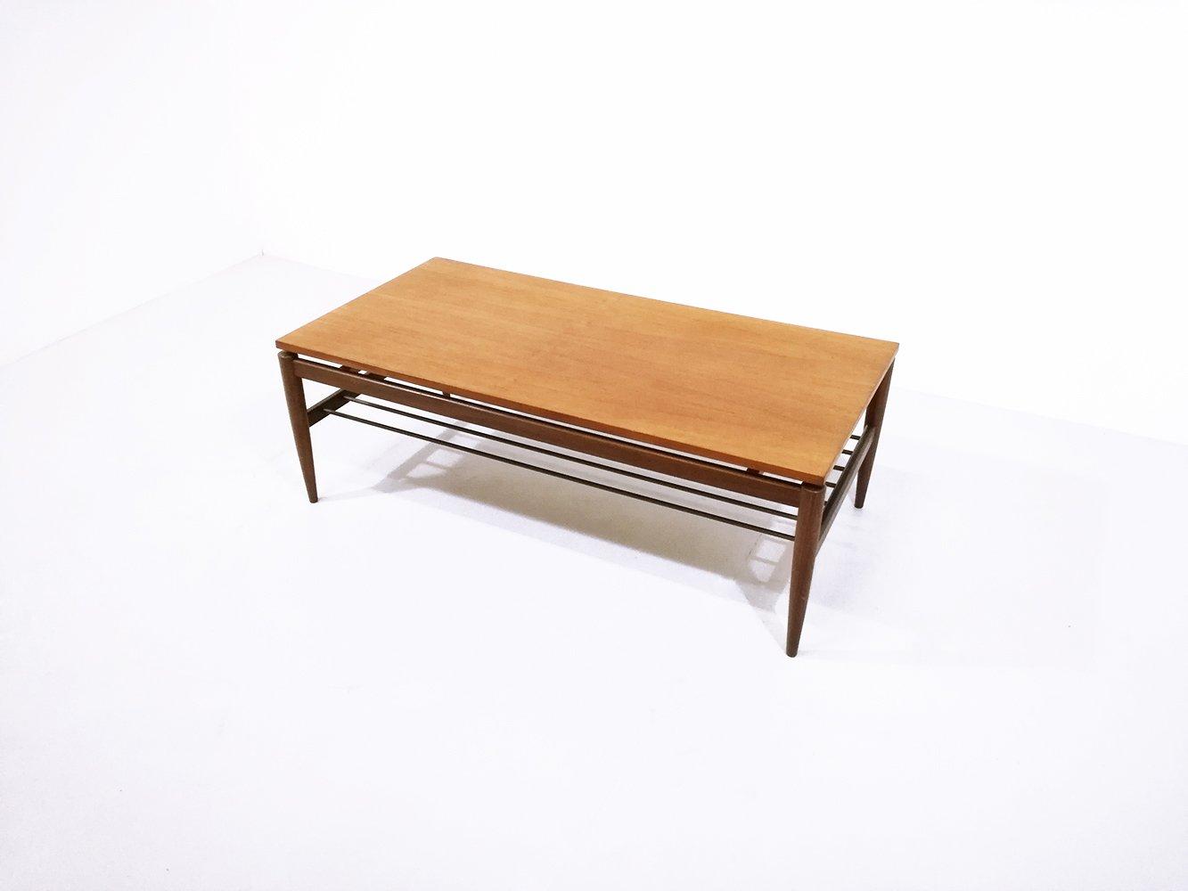 Vintage Scandinavian Teak Coffee Table 1960s For Sale At Pamono