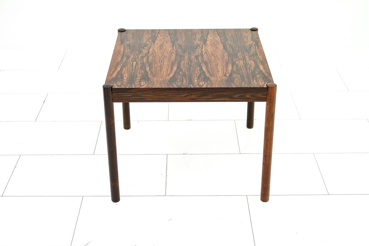 Rosewood Flip Top Chess Table by Georg Petersen 1960s for sale at