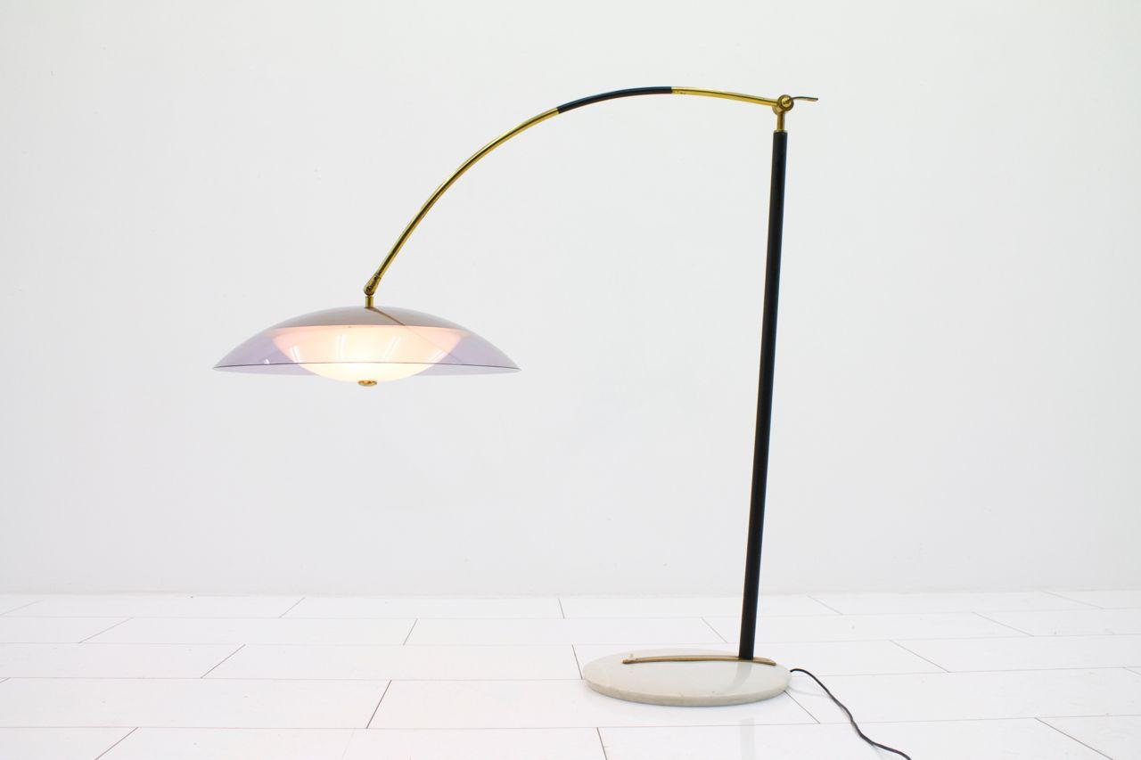 italienische stehlampe von stilux milano 1960er bei pamono kaufen. Black Bedroom Furniture Sets. Home Design Ideas