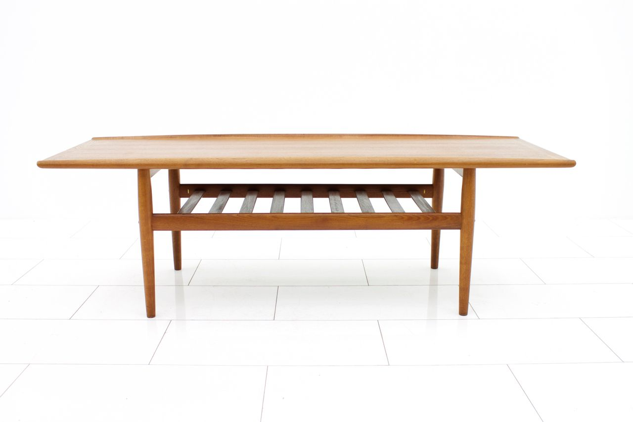 Vintage Teak Sofa Table By Grete Jalk For P Jeppensens M Belfabrik For Sale At Pamono