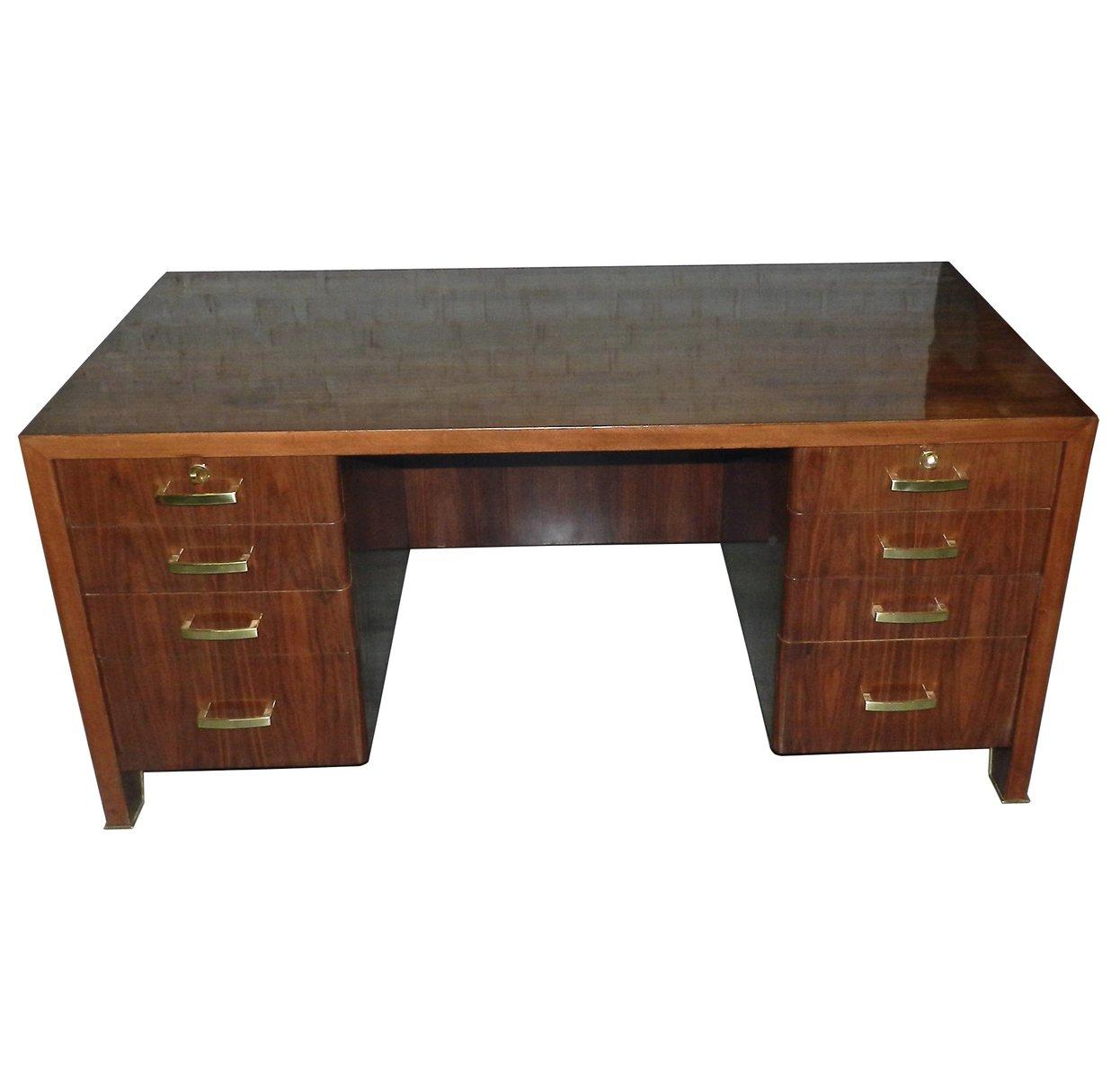 art deco schreibtisch von paul dupr lafon 1930er bei. Black Bedroom Furniture Sets. Home Design Ideas