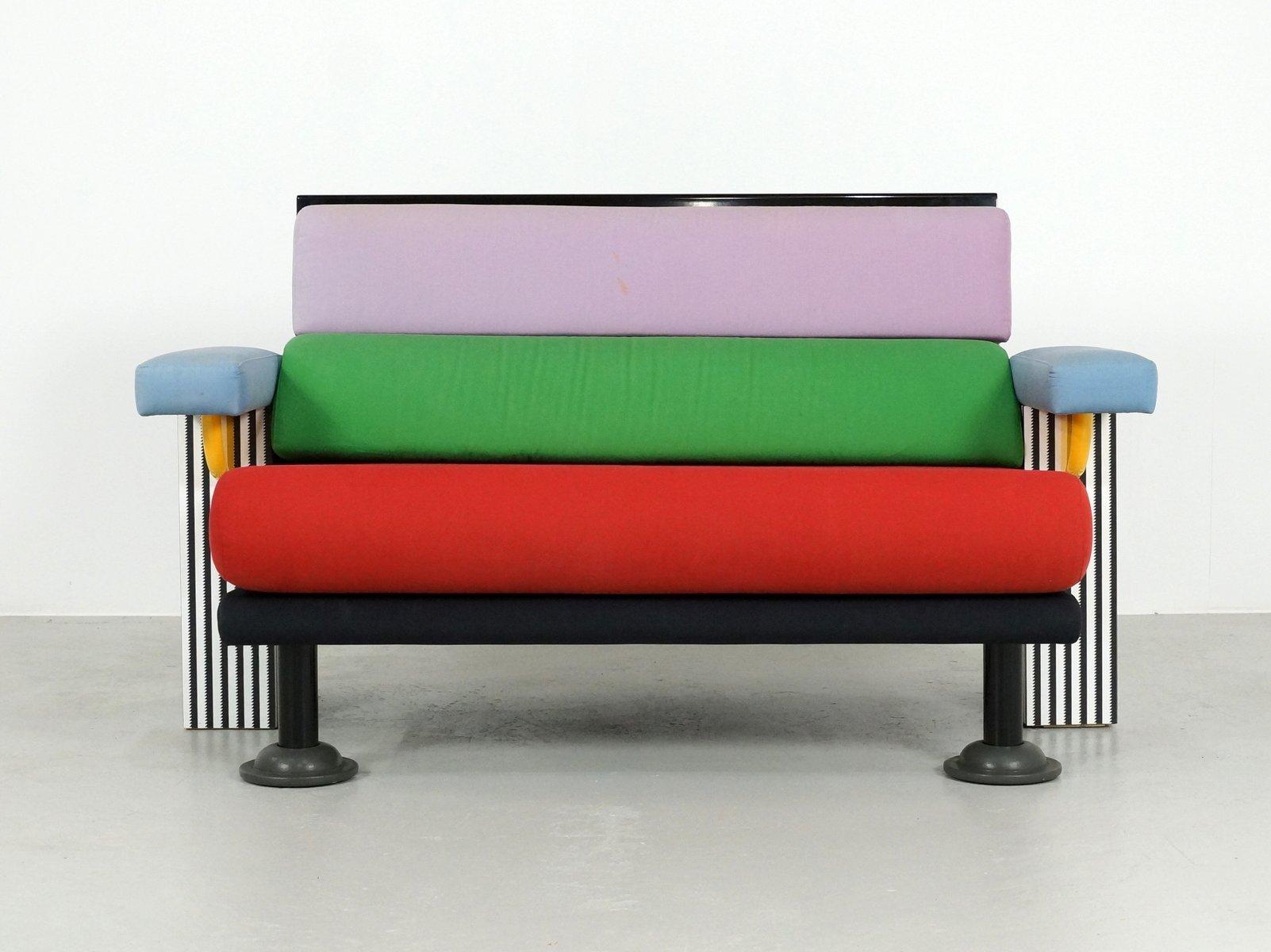 Lido Sofa By Michele De Lucchi For Memphis 1982 For Sale