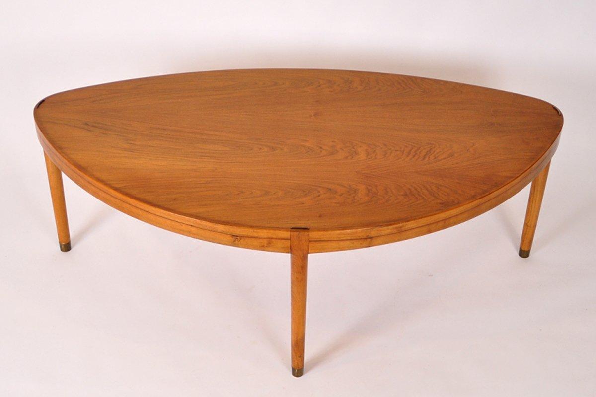 Mid century danish walnut coffee table for sale at pamono for Walnut coffee table