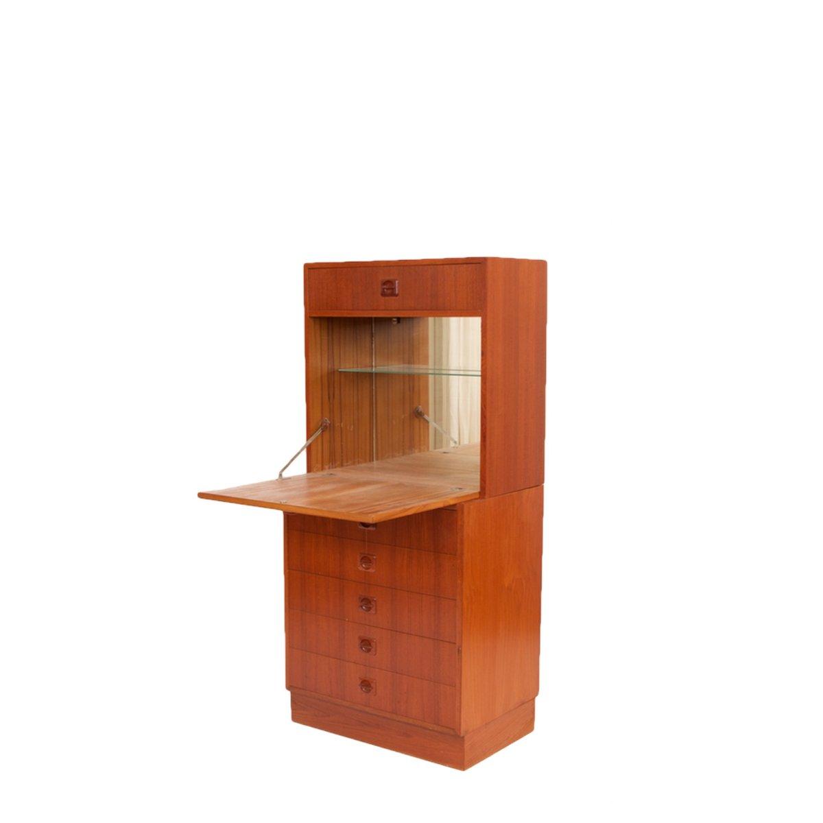 Mid-Century Danish Bar Cabinet for sale at Pamono