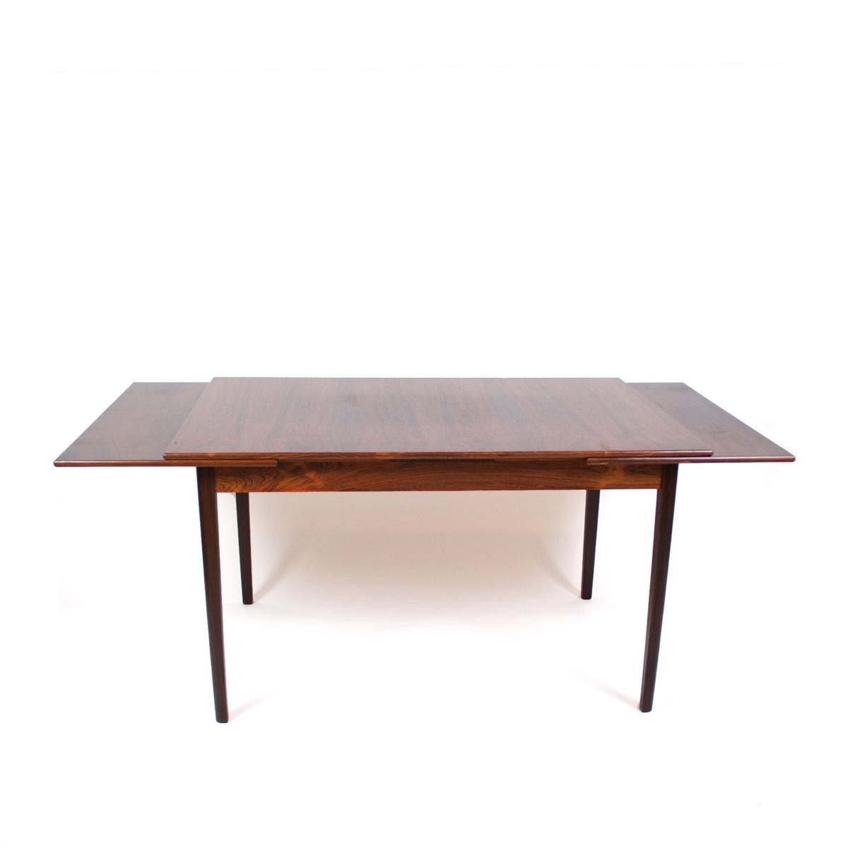 Rosewood Dining Table Mid Century Extendable Danish Rosewood Dining Table For Sale At Pamono