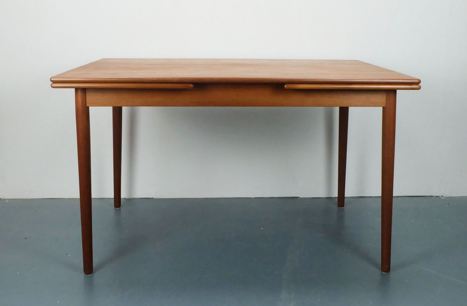 Vintage Danish Extendable Teak Dining Table from G P Farum for