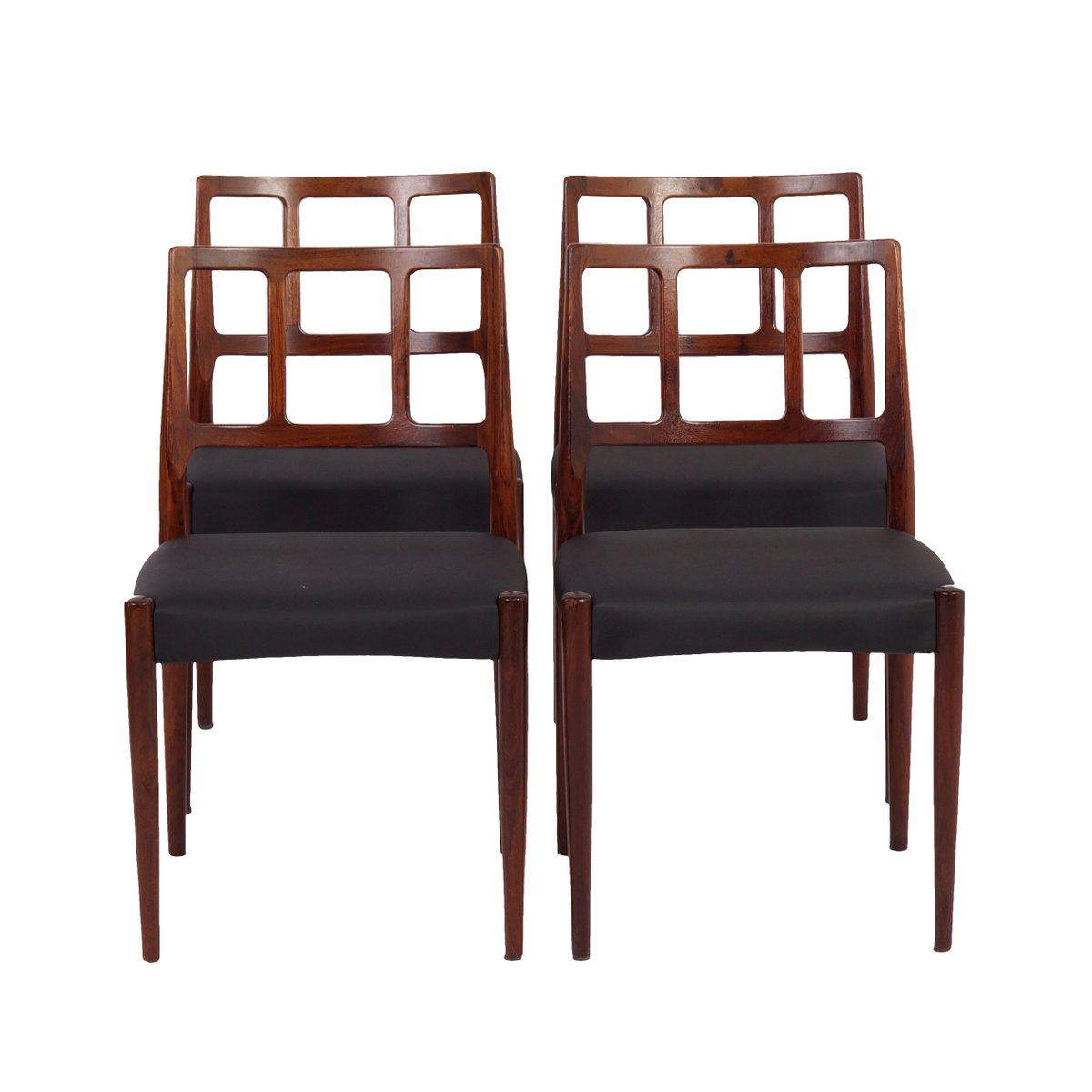 1960s Style Furniture danish dining chairsjohannes andersen for uldum møbelfabrik