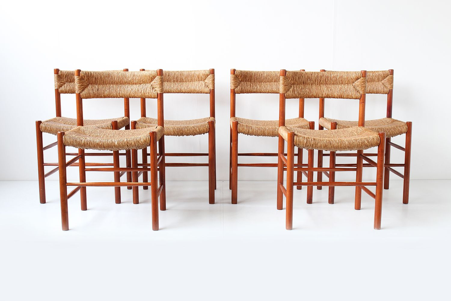 dordogne chairs from sentou set of 6 for sale at pamono