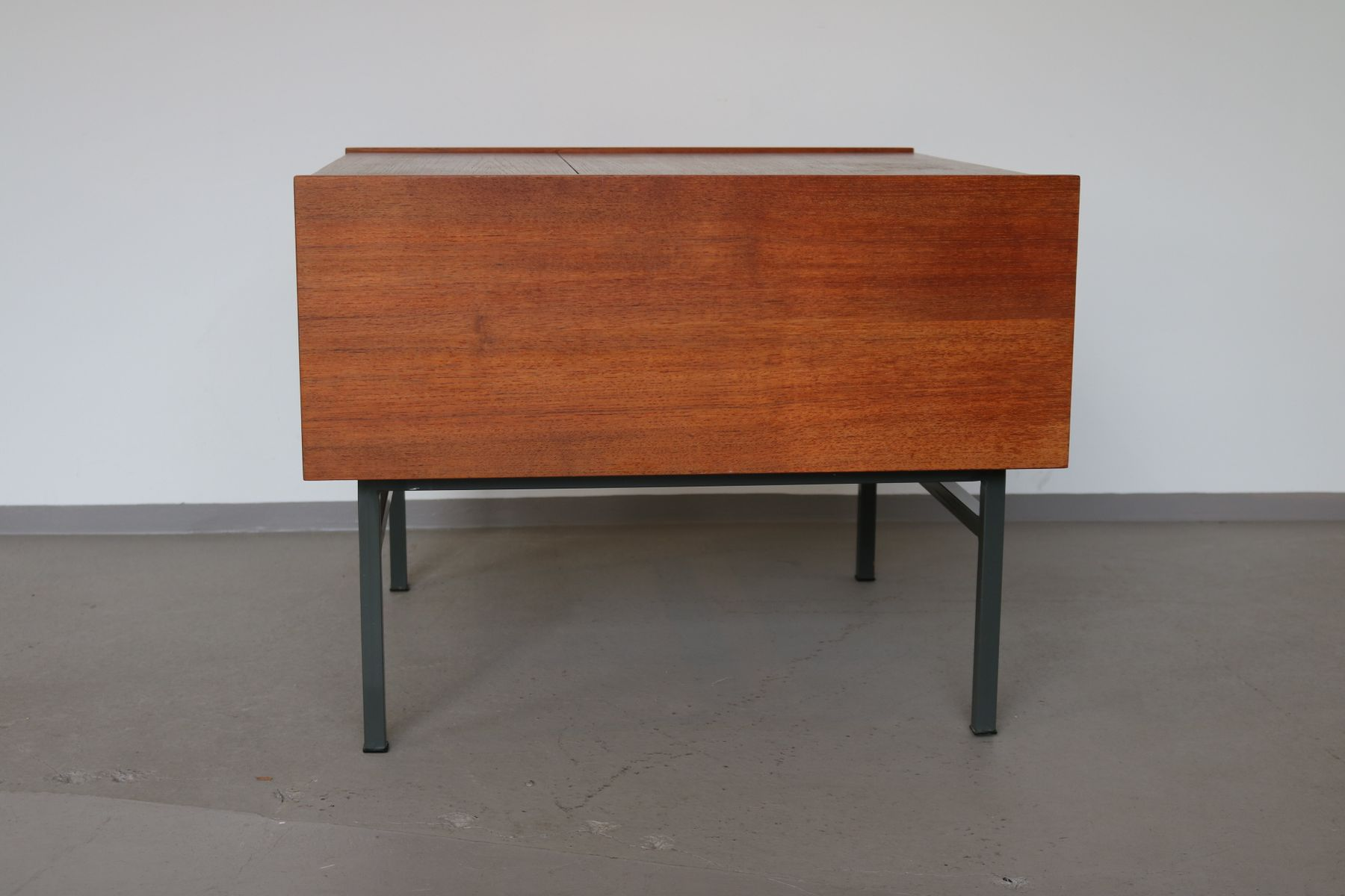 Vintage Teak Folding Coffee Table 1960s For Sale At Pamono