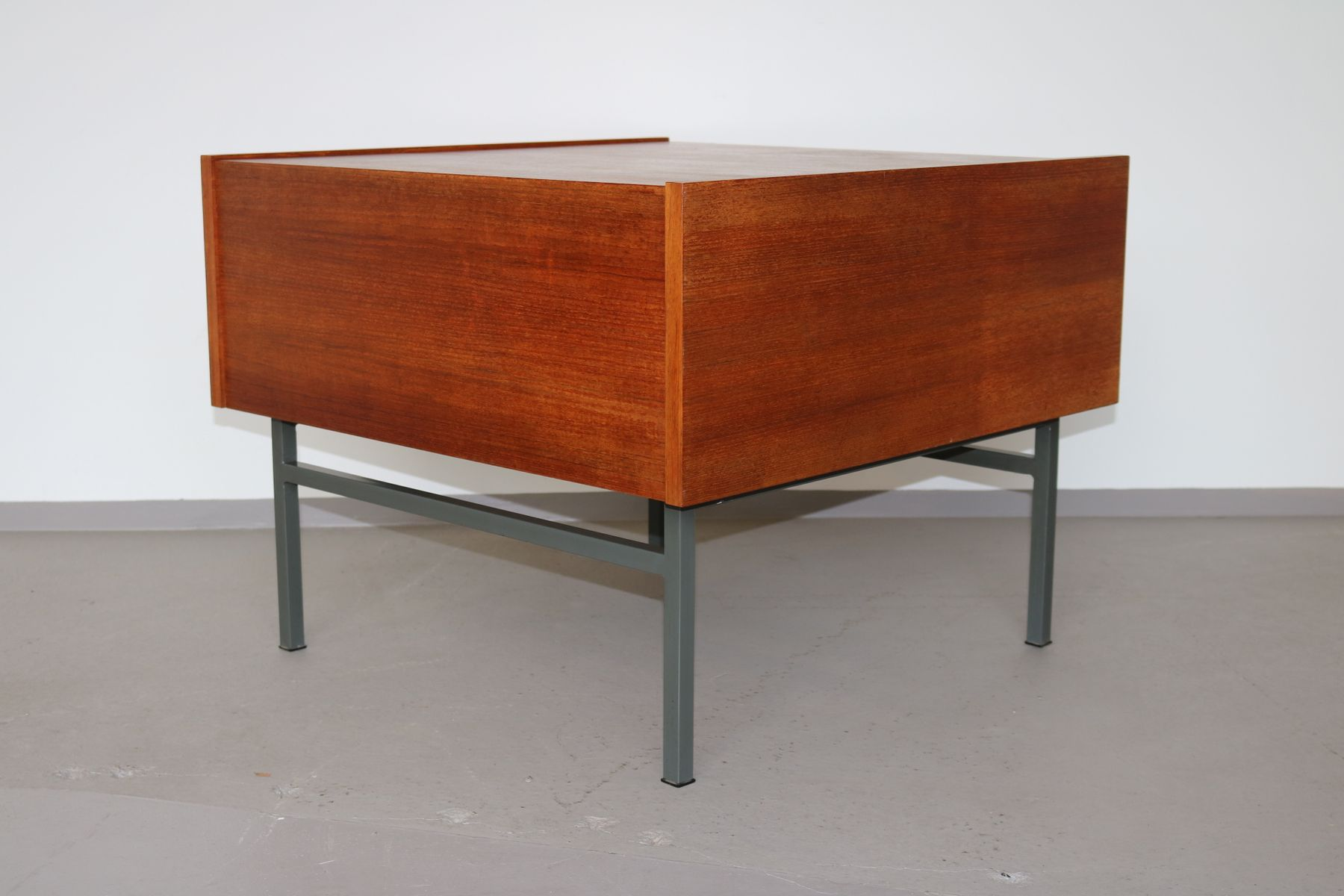 vintage teak folding coffee table, 1960s for sale at pamono
