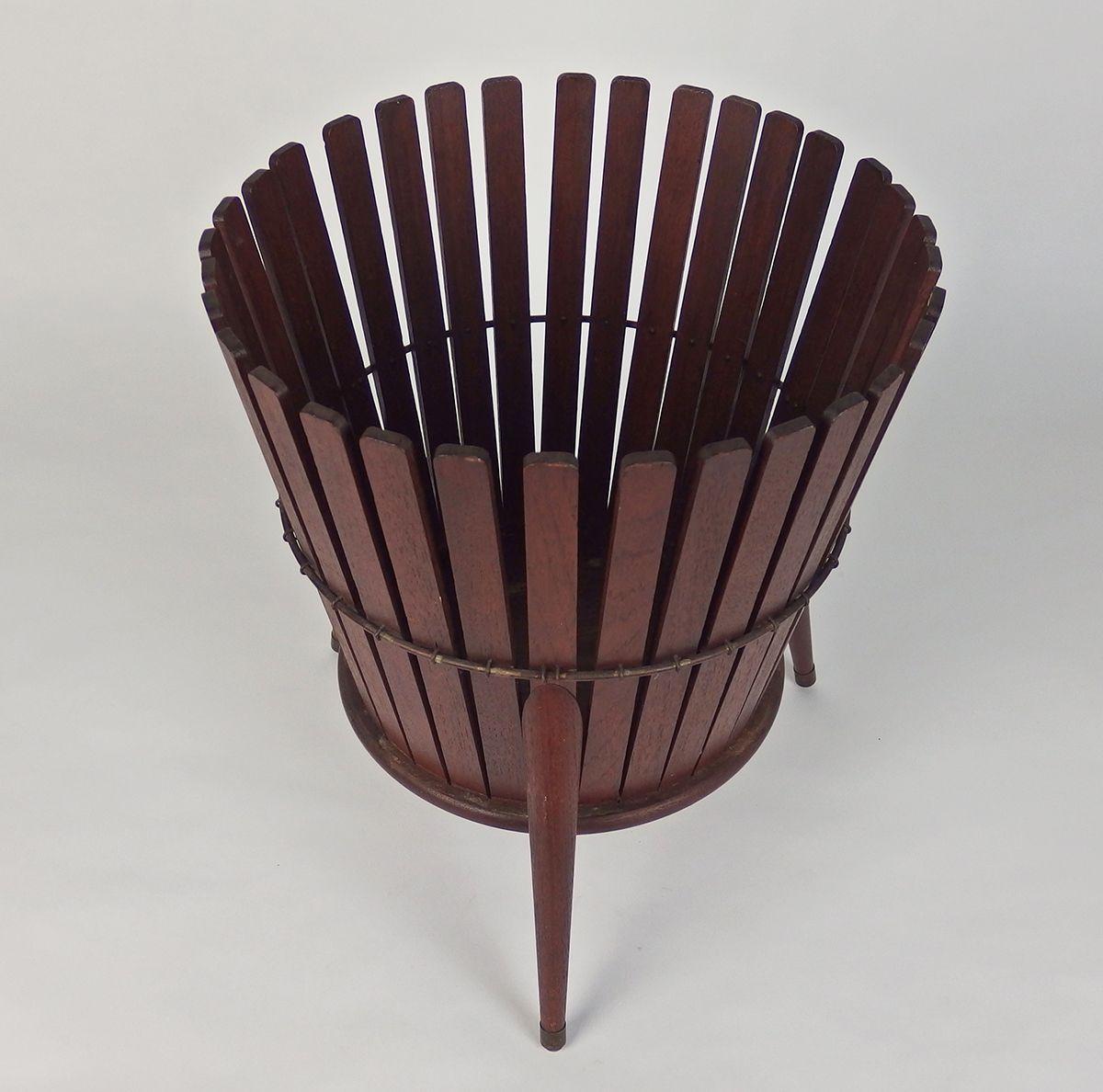 Waste Paper Basket vintage waste paper basket, 1960s for sale at pamono