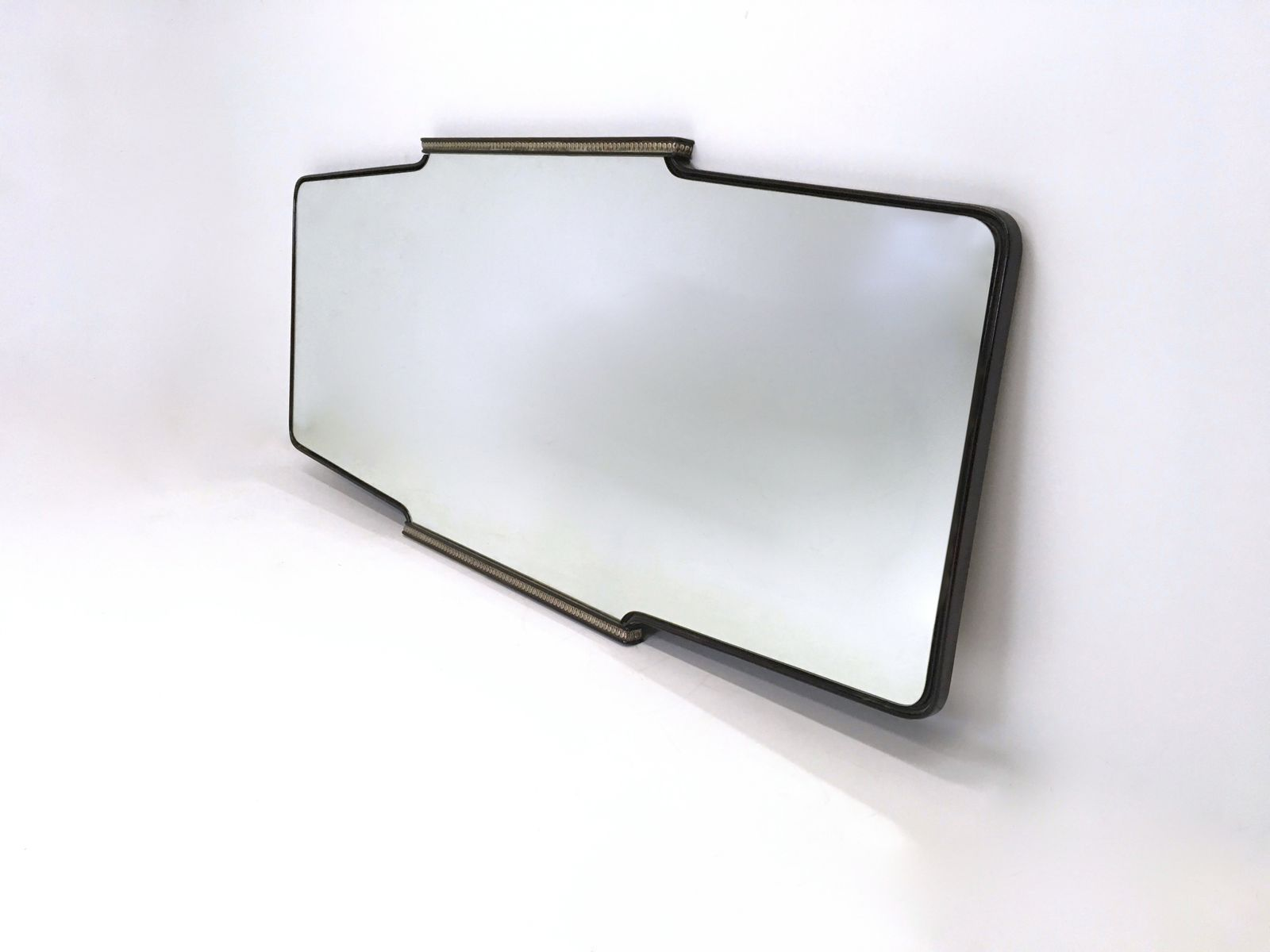 Large wall mirror by osvaldo borsani 1950s for sale at pamono for Large wall mirrors for sale