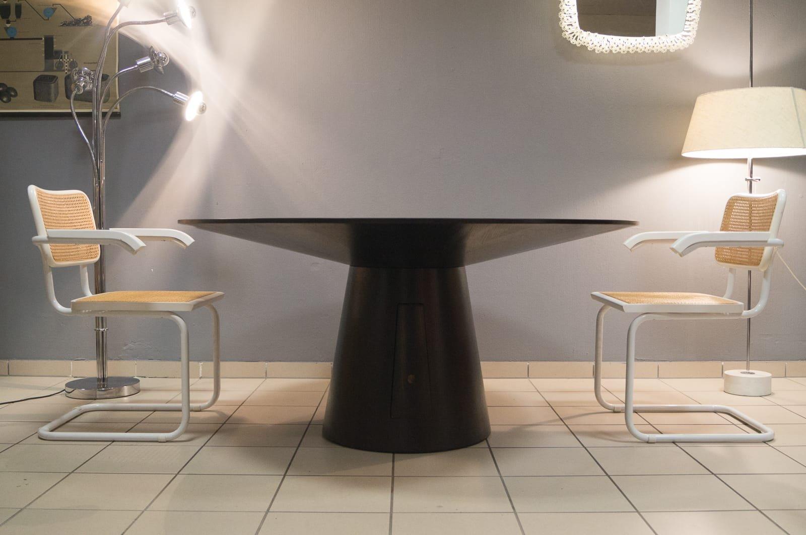 salle a manger ronde fabulous table salle a manger ronde. Black Bedroom Furniture Sets. Home Design Ideas