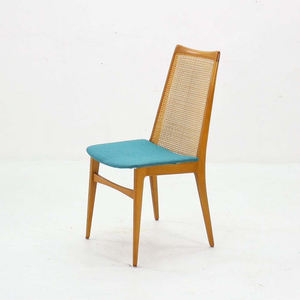 Rattan Dining Chairs: Rattan Dining Chairs, 1960s, Set Of 4 For Sale At Pamono