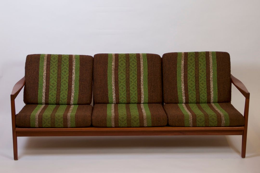 Teak Sofa Chair By Svante Skogh For Sale At Pamono