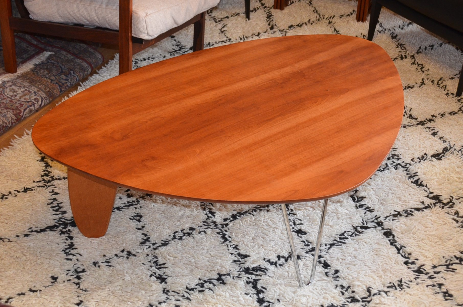 Vintage rudder coffee table by isamu noguchi for herman miller for sale at pamono Herman miller noguchi coffee table