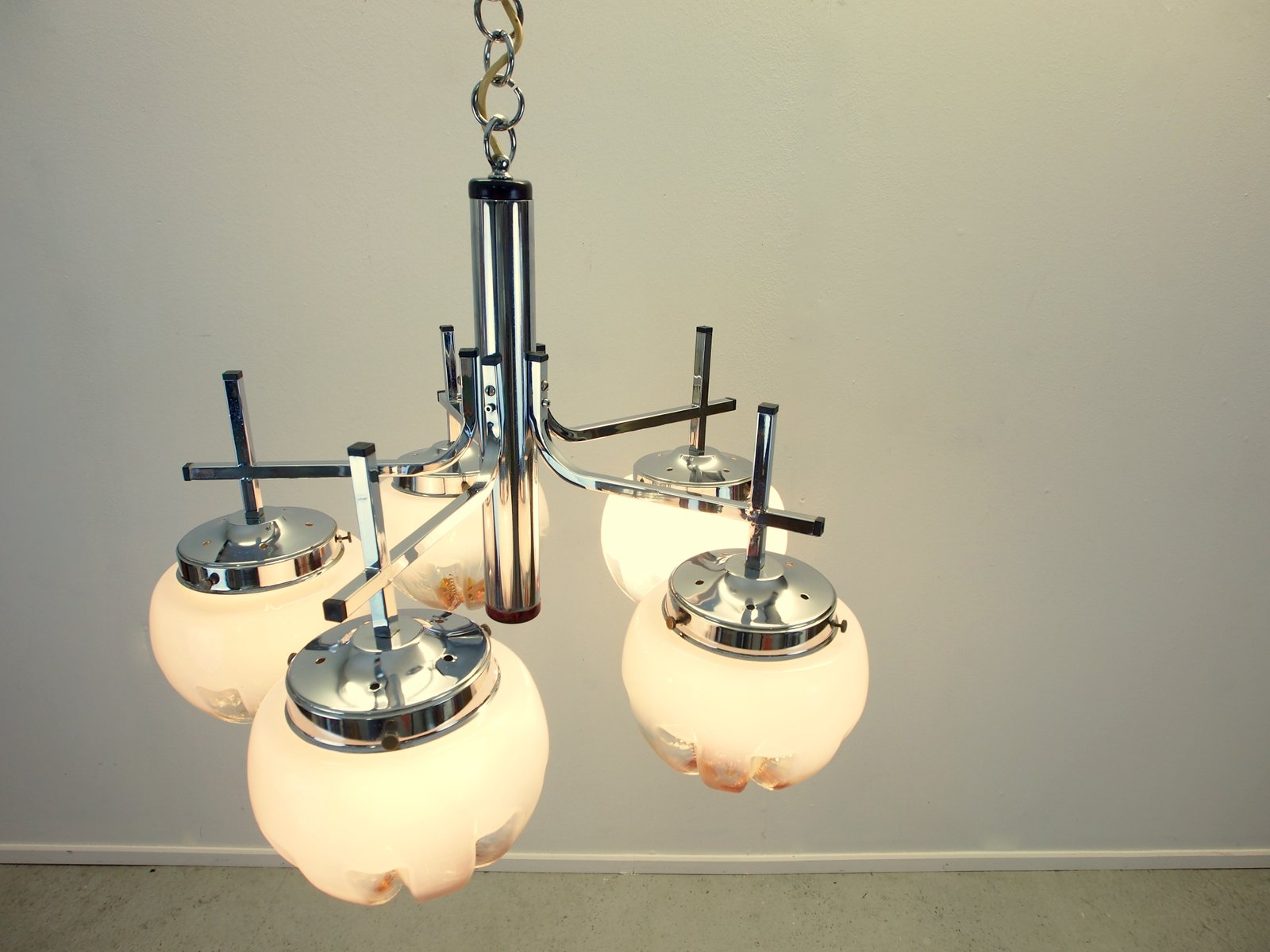 vintage kronleuchter murano glas bei pamono kaufen. Black Bedroom Furniture Sets. Home Design Ideas