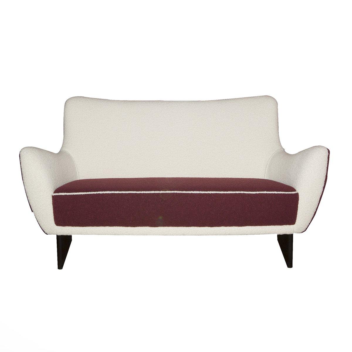 Italienisches vintage sofa von guglielmo veronesi 1960er for Italienisches sofa