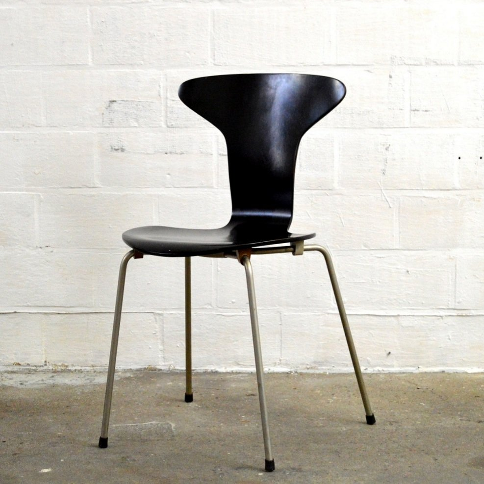 Vintage 3105 mosquito chair by arne jacobsen for fritz for Arne jacobsen nachbau