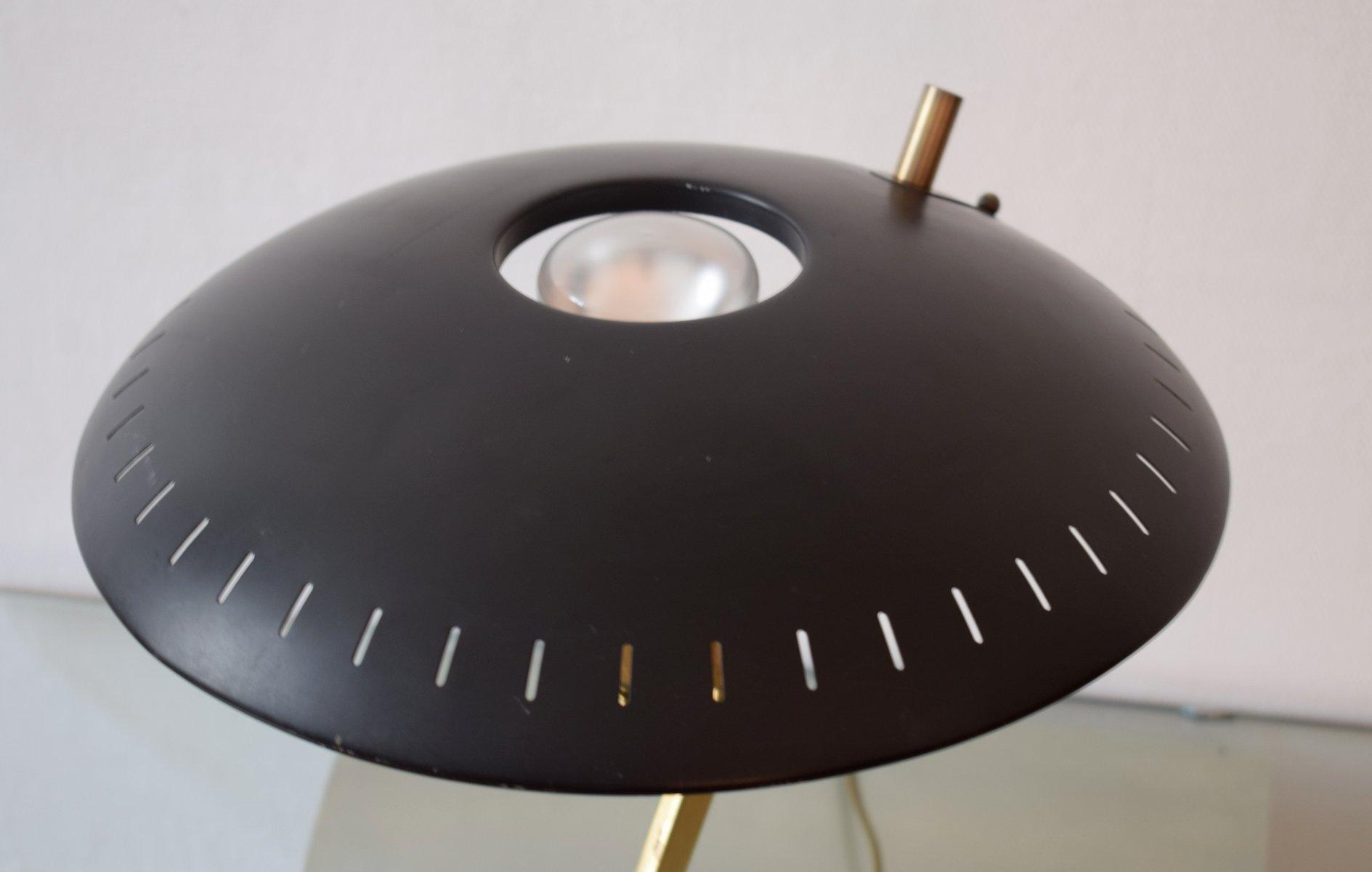 grande lampe de bureau vintage par louis kalff pour