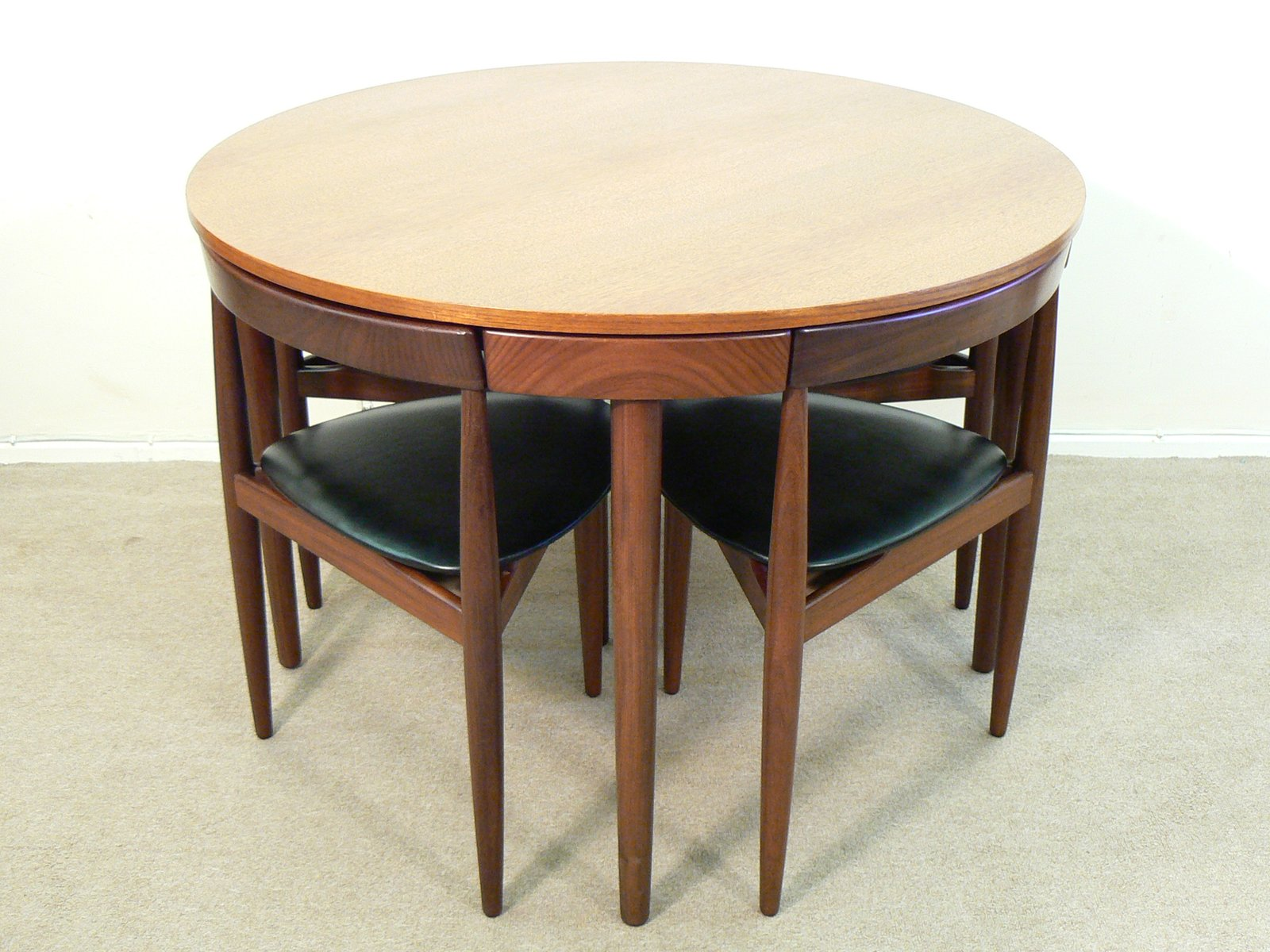 Dining Table Set By Hans Olsen For Frem Rojle, 1960s For Sale At Pamono