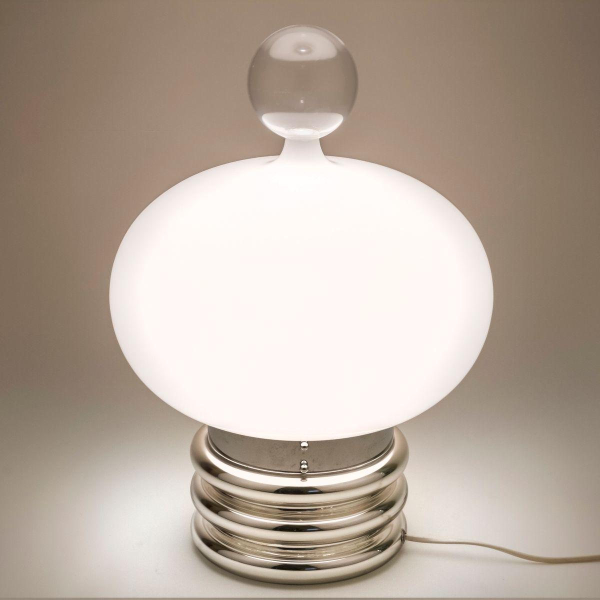 Lampe de table space age moderne mid century de limburg