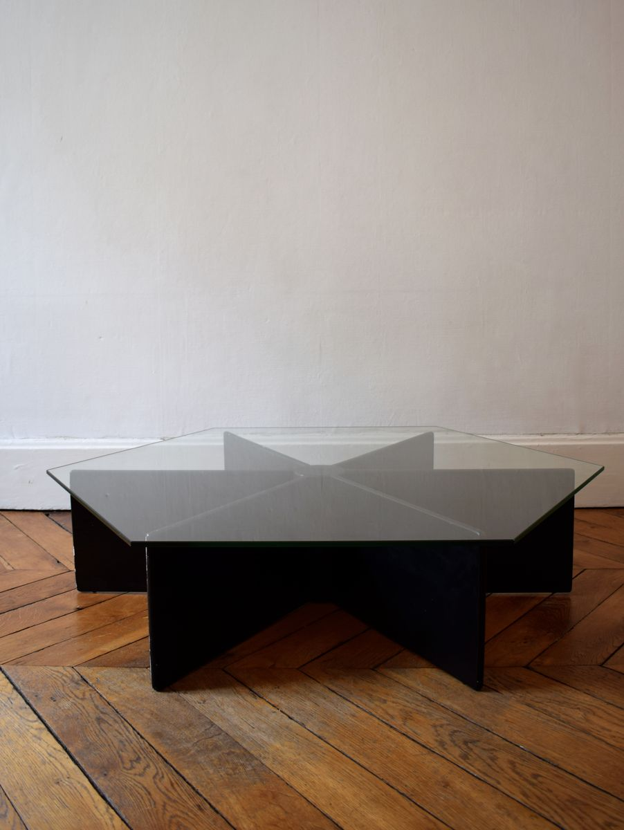 table basse mod le t878 par pierre paulin pour artifort 1966 en vente sur pamono. Black Bedroom Furniture Sets. Home Design Ideas