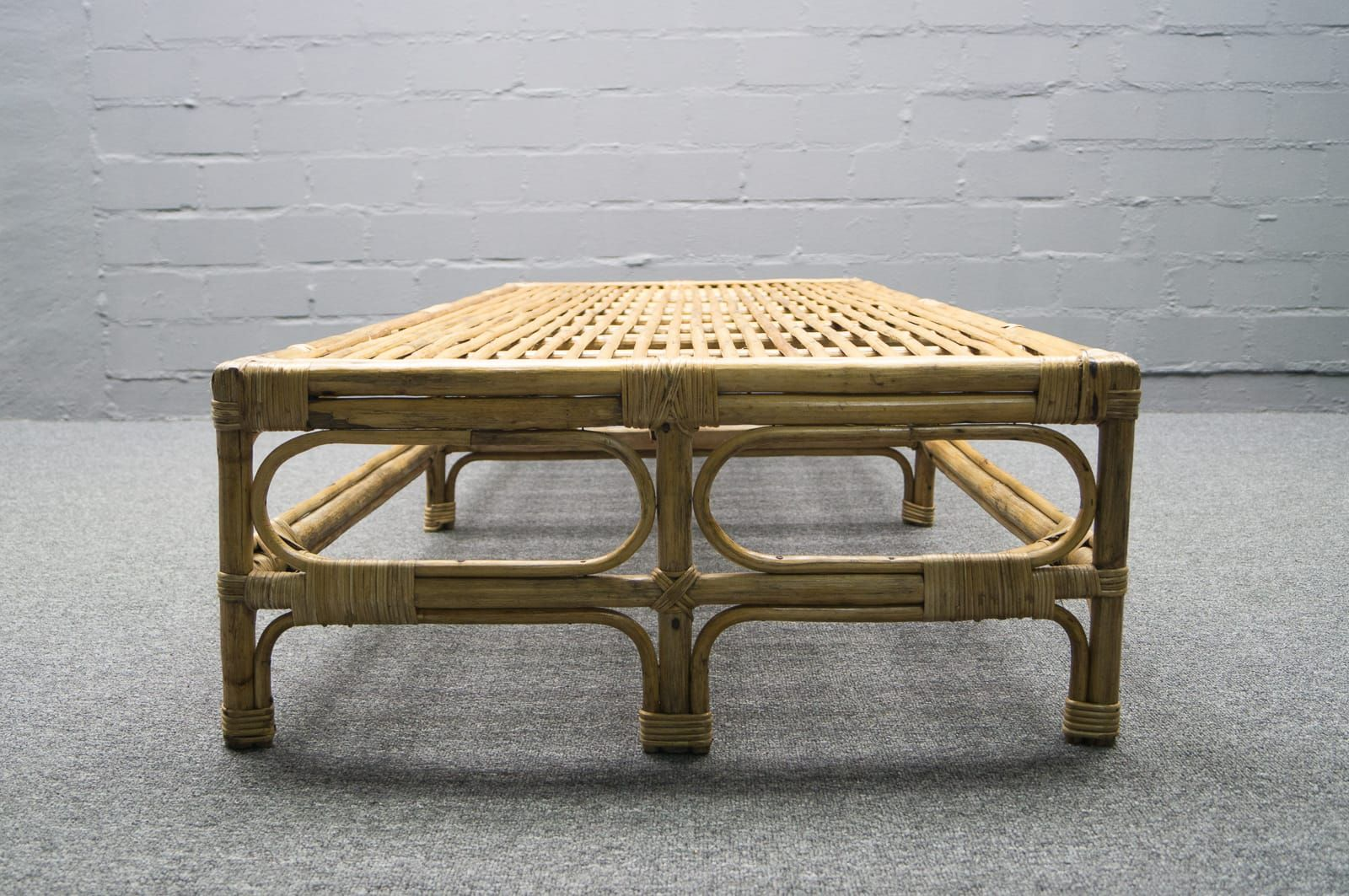 Italian Rattan Bamboo Daybed 1950s For Sale At Pamono