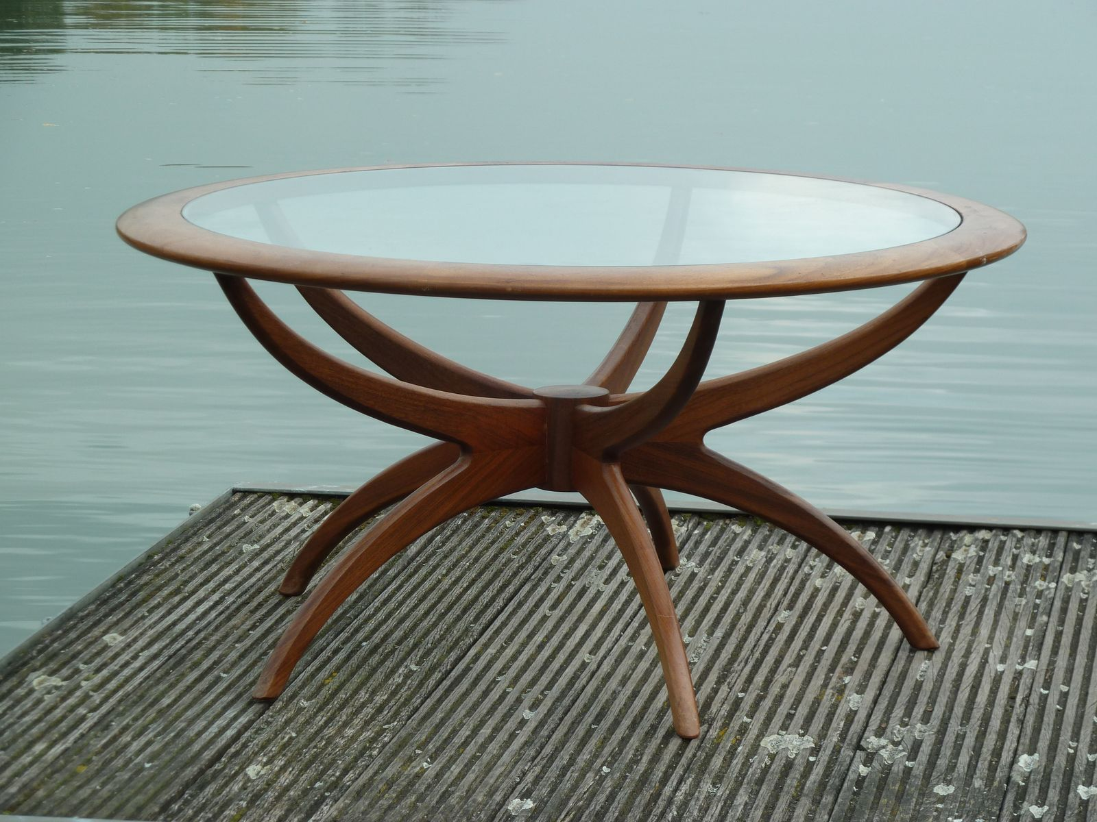 Mid Century Modern Spider Coffee Table by Victor Wilkins for G