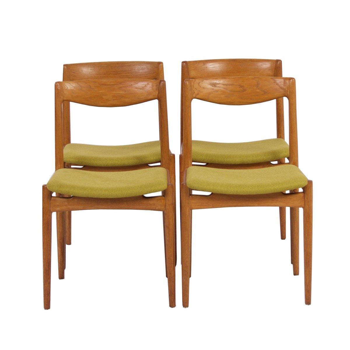green danish dining chairs